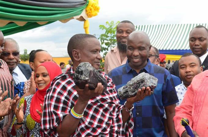 Artisanal miner in Tanzania finds large rare gemstones worth $3.3 million