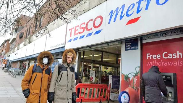 UK's Tesco sales jump in virus lockdown