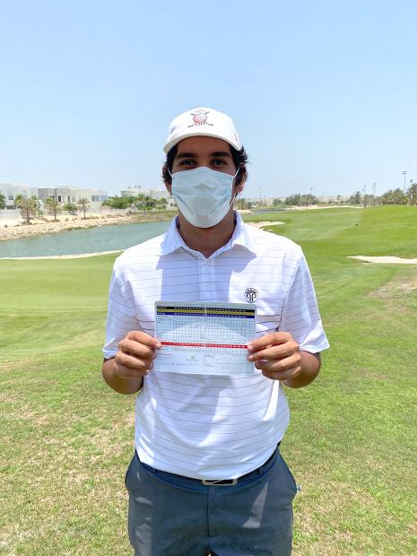 Royal Golf Club record for Yaseen