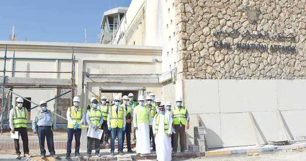 Private aviation terminal project on track