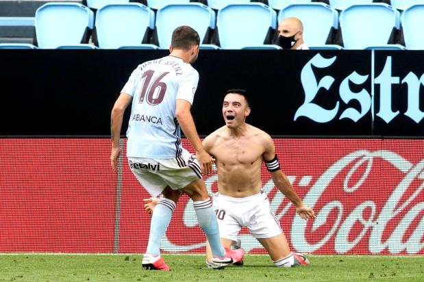 La Liga: Aspas dents Barca hopes