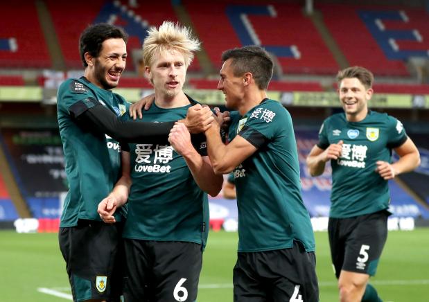 Premier League: Burnley boost Europa hopes