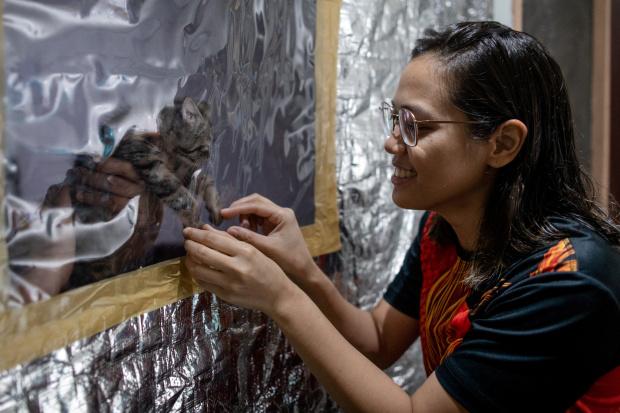"Philippine doctors shield families with ""quarantent"", safe spaces"