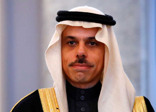 Saudi urges political solution to Syrian crisis