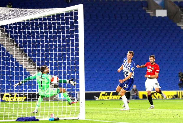 Premier League: United sink Brighton