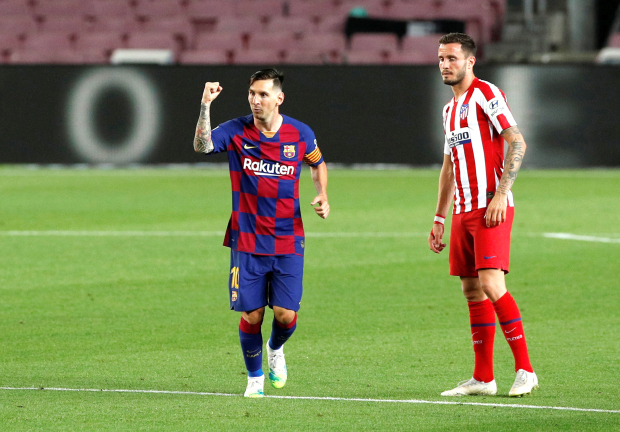 Atletico upstage Messi milestone