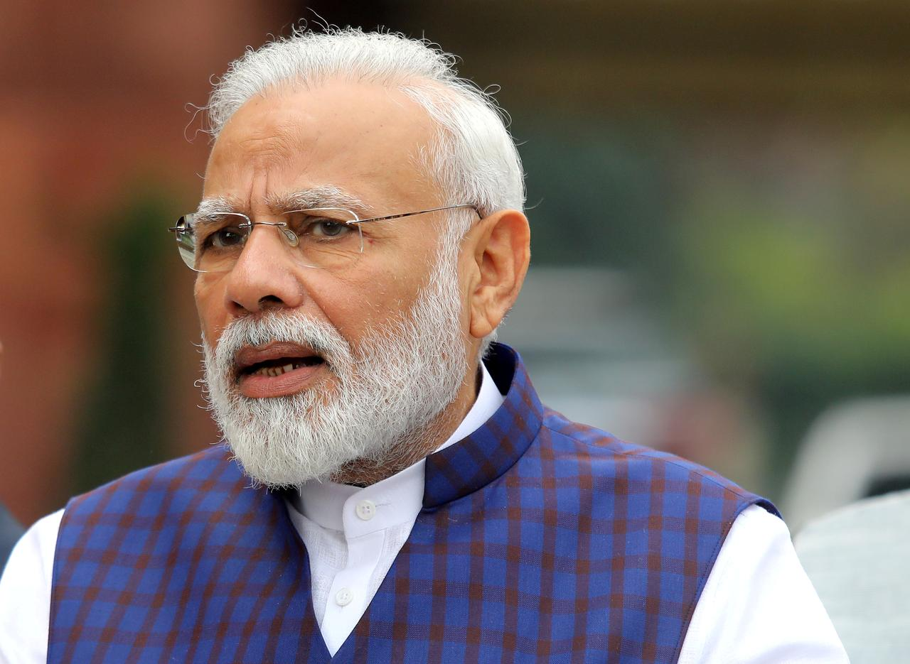 Indian Prime Minister Modi shuts Weibo account after banning Chinese apps