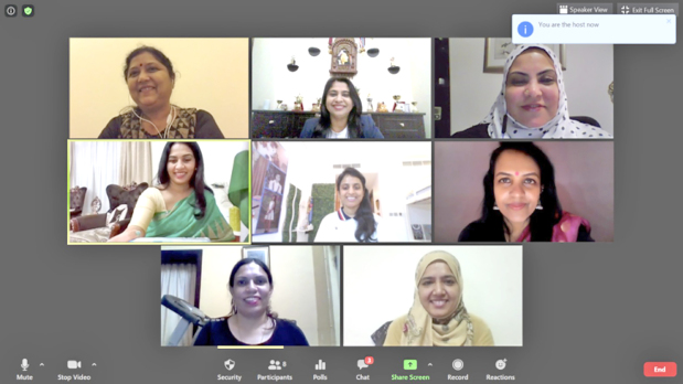 <p>A new executive committee for the 2020-2021 term has been elected at Angels Toastmasters Club, which is a club for women only.</p> <p>A virtual induction ceremony of the executive committee saw Dr Bijal Karia being elected as president with Dr Veena Nagaraj becoming vice-president for education, Fareeda Thanzeer becoming vice-president for membership and Asha Pradeep becoming vice-president for public relations.</p> <p>The committee also includes Nishat Asif as treasurer, Hemalata Prakash as secretary and Purvi Shah as sergeant at arms.</p> <p>The seven-member team was inducted by Toastmasters Area Director 15 Thomas Thomas.</p> <p>Immediate past president Asha Rani was also present in the online ceremony, which saw Muneera Ali getting the Best Toastmaster of the Term award and Janhvi Kulkarni winning the award for the &lsquo;Best Improved Toastmaster of the Year&rsquo;.</p>