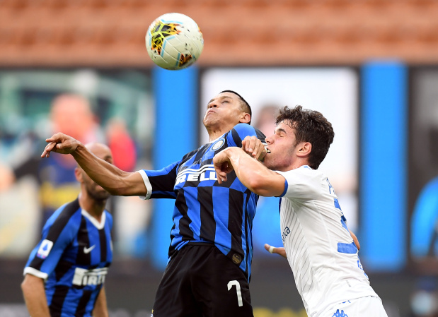 Sanchez leads Inter to 6-0 win over Brescia