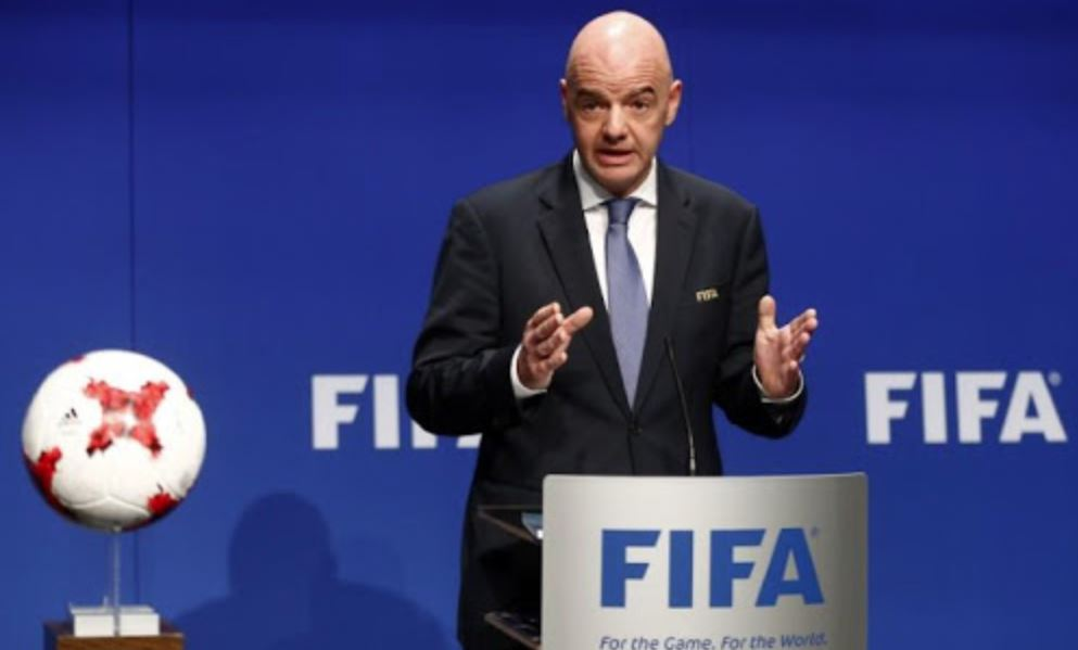 Fifa chief briefed on steps