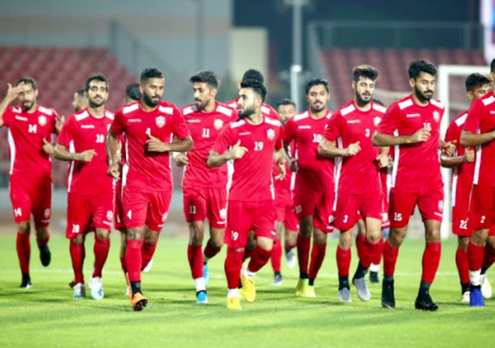 Bahrain's footballers to undergo Covid tests