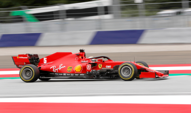 Pandemic sealed Vettel's departure says Ferrari boss