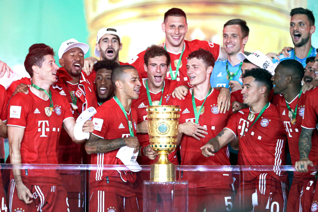 Bayern complete domestic double