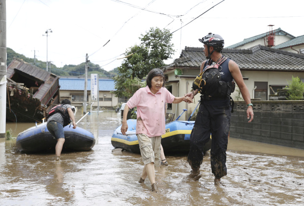 Japan braces for return of torrential southern rains that killed 16