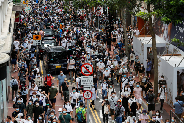 Democracy activists' books unavailable in Hong Kong libraries after new law