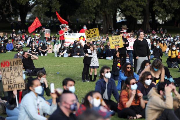 Australians widen protests backing Black Lives Matter, indigenous people