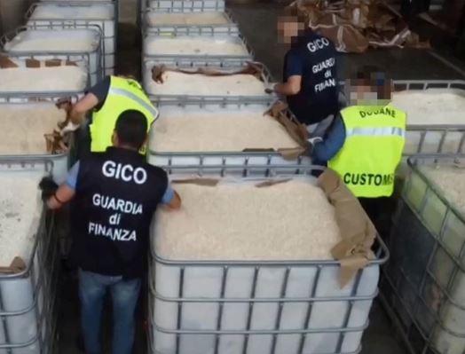 $1.1bn drug haul 'linked to Assad regime'