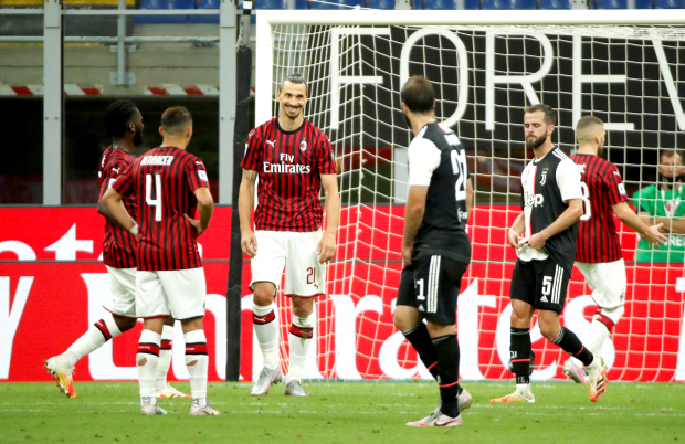 Milan score thrice in five minutes to floor Juve