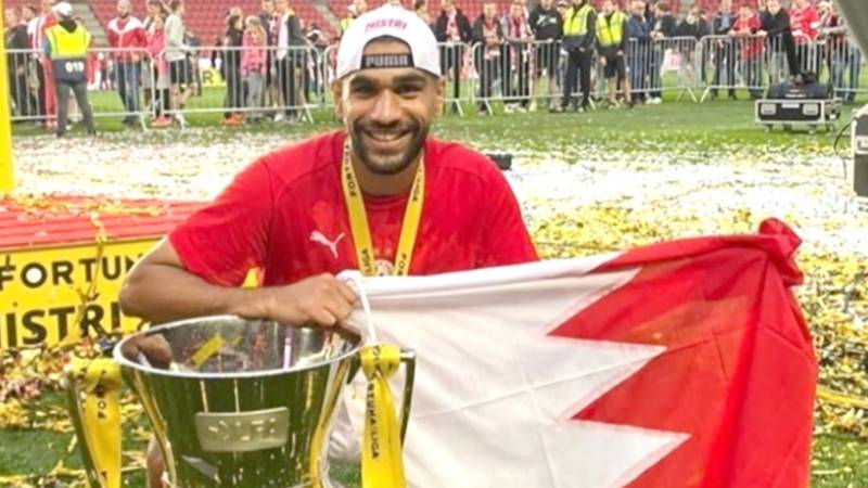 Bahraini footballer makes history with Slavia Prague