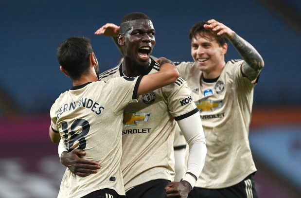 United cruise to 3-0 win over villa