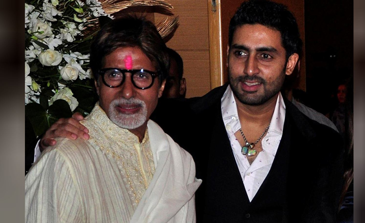 Indian actor Amitabh Bachchan, son Abhishek in stable condition -  health officials