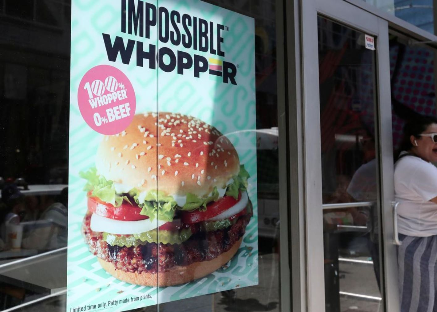 Burger King wins dismissal of vegans' lawsuit over Impossible Whopper