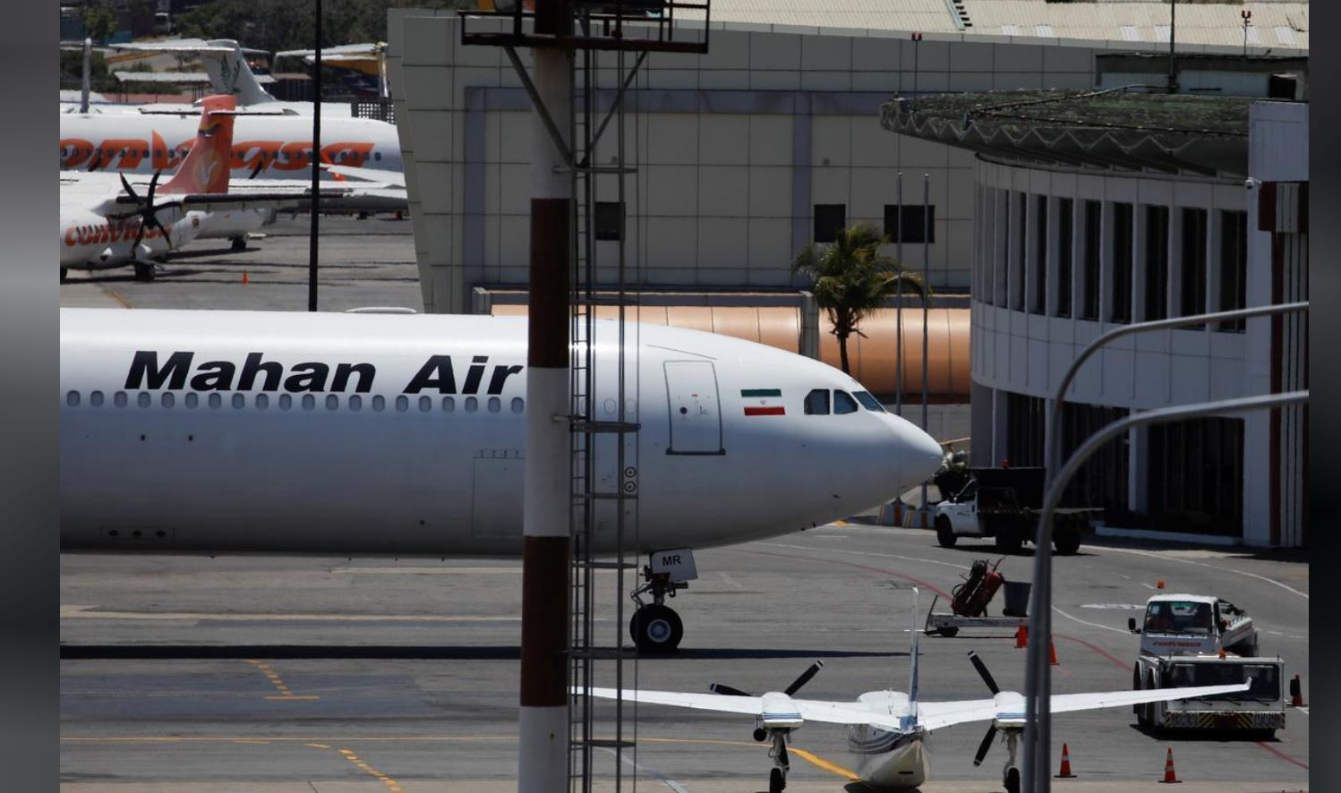 US fighter jets approach Iranian passenger plane