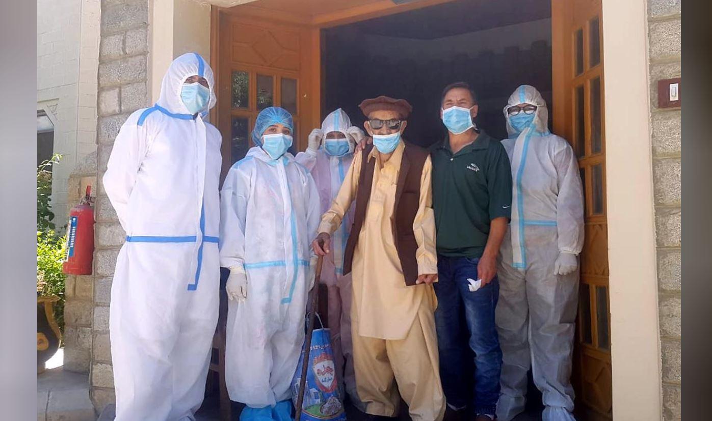 103-year-old Pakistani man survives Covid-19