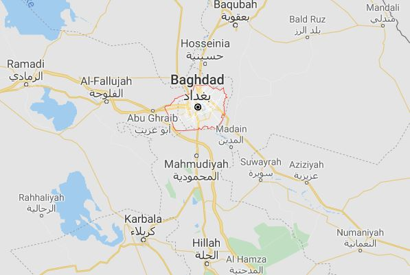 Explosion hits southern Baghdad weapons depot, blamed on heat
