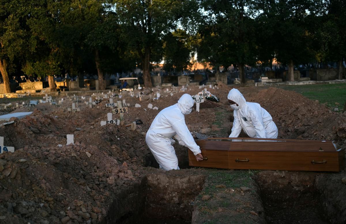 Latin America coronavirus death toll passes 200,000 mark