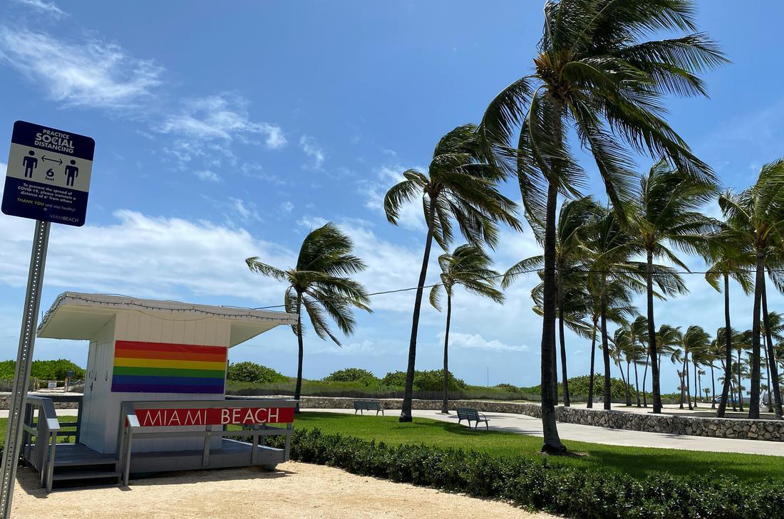 Storm Isaias churns close to Florida's east coast