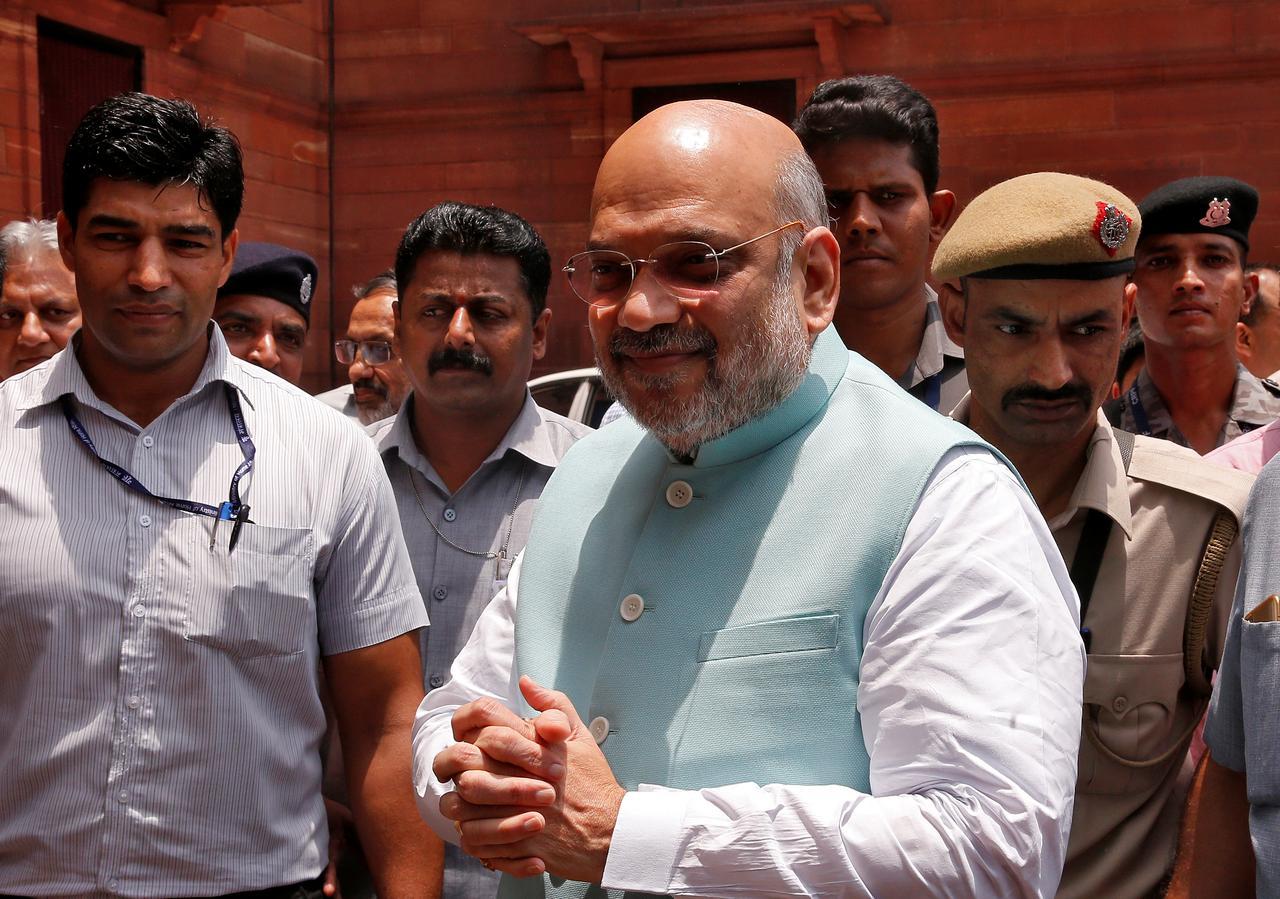 India's Home Minister tests positive for coronavirus, hospitalised