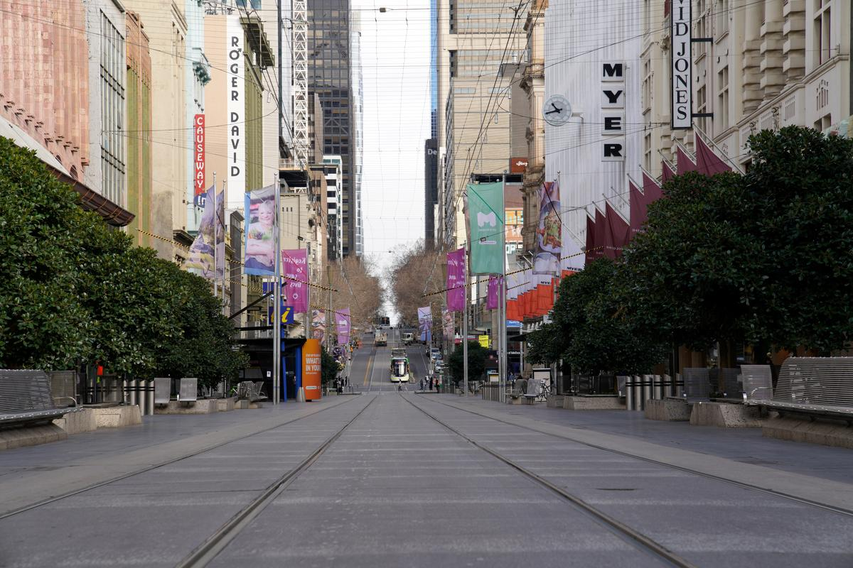 Australia's Melbourne braces for business closures; nearby states step up precautions