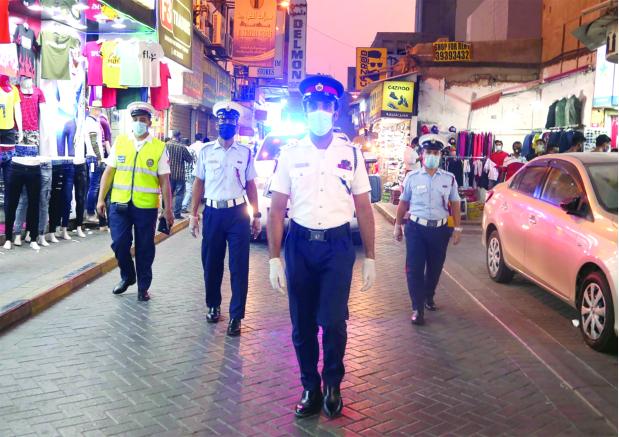 Photo Gallery: Police patrols during Eid Al Adha
