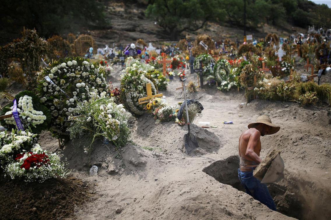 Latin America now has world's highest coronavirus death toll