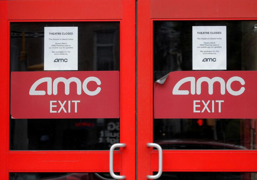AMC expects to reopen all international theatres in three weeks