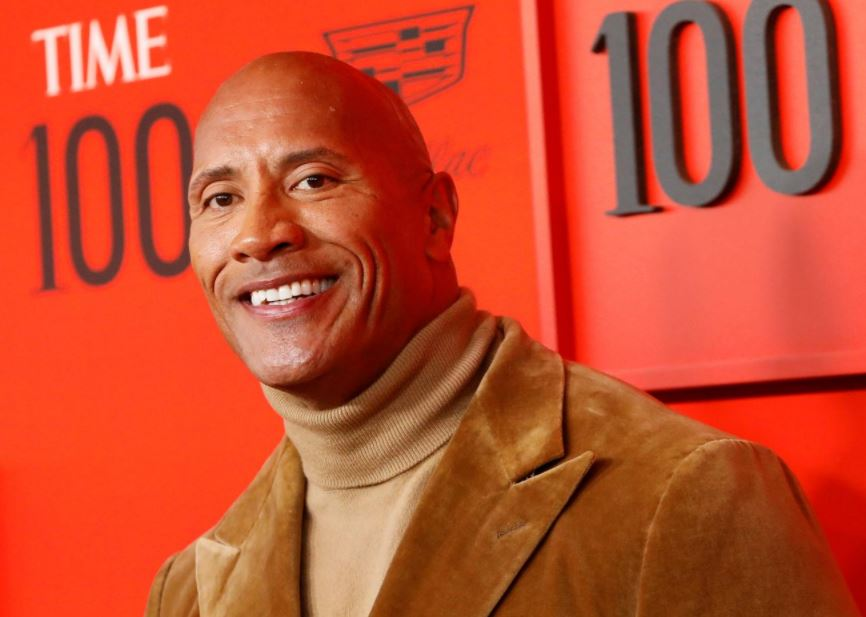 Dwayne Johnson hangs on to top spot as Forbes highest-paid male actor