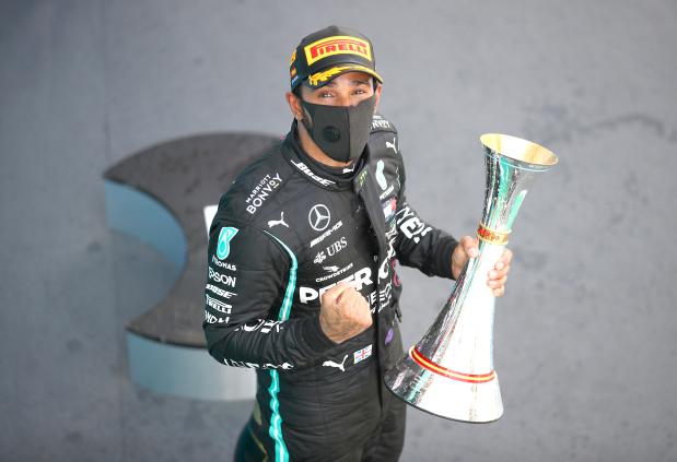 Hamilton extends title lead