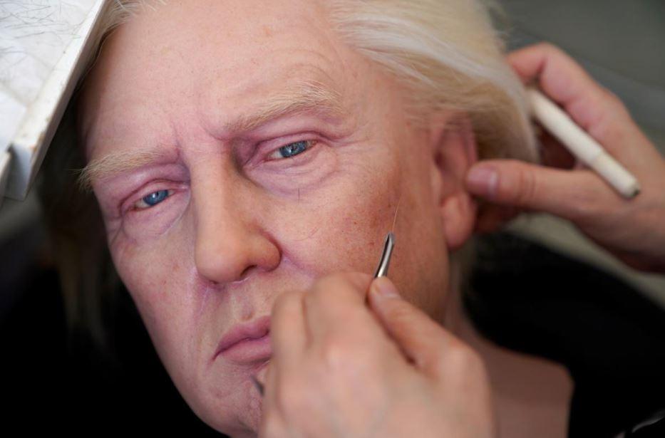 In China, a Trump wax statue maker laments virus impact