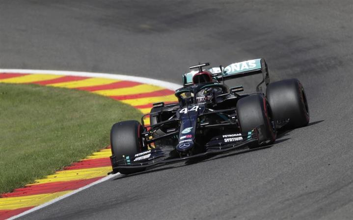 Hamilton fastest in final Belgian GP practice, Vettel last