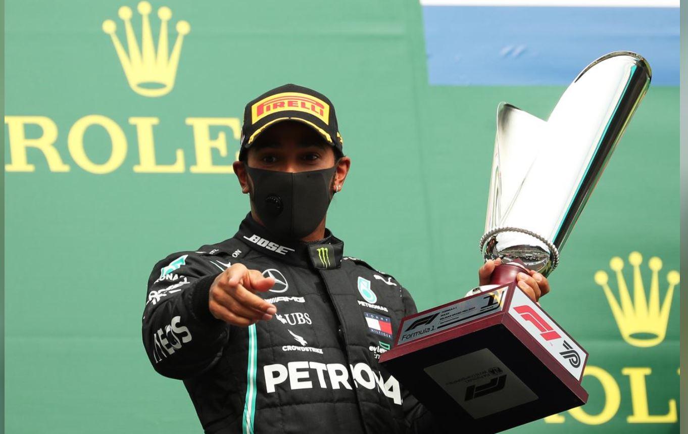 Hamilton cruises to Belgian GP win