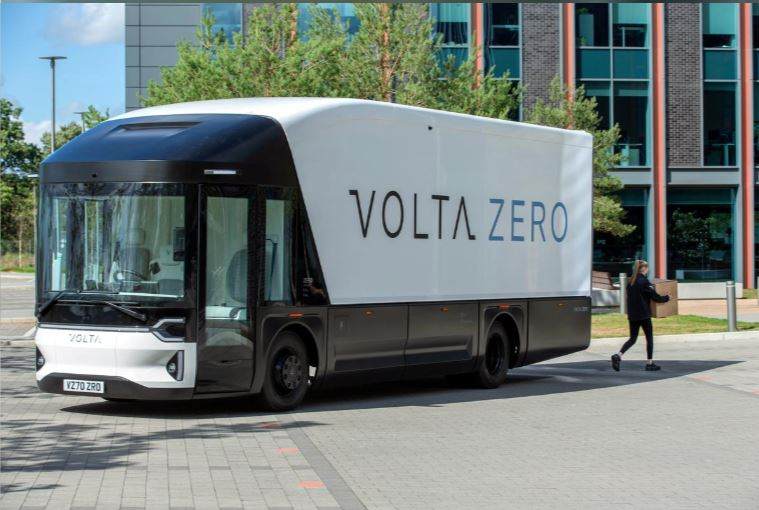 Swedish startup Volta unveils electric truck, to manufacture in the UK
