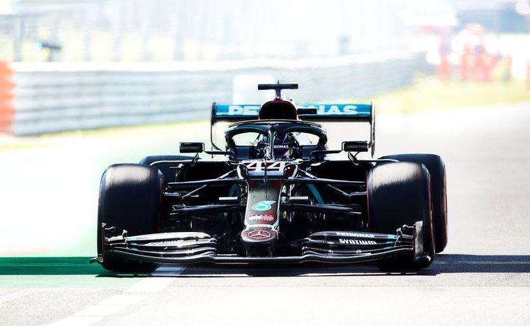 Hamilton on top in Italian GP practice
