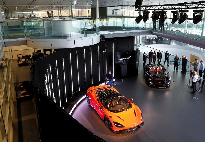 McLaren to sell and lease back Woking factory