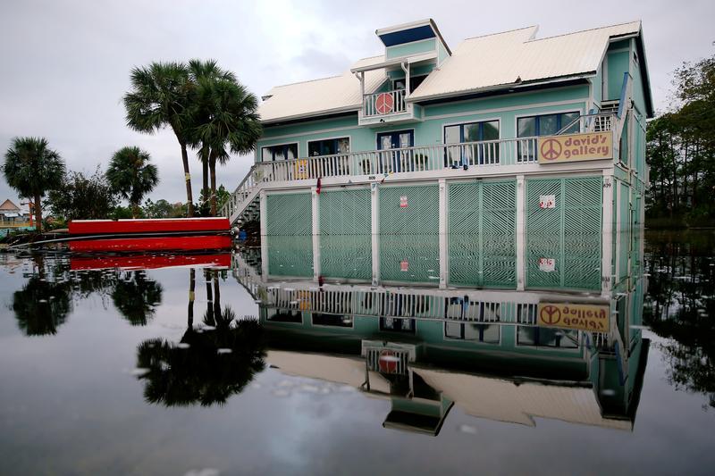 US Gulf Coast tourism, already stung by pandemic, slammed by Hurricane Sally