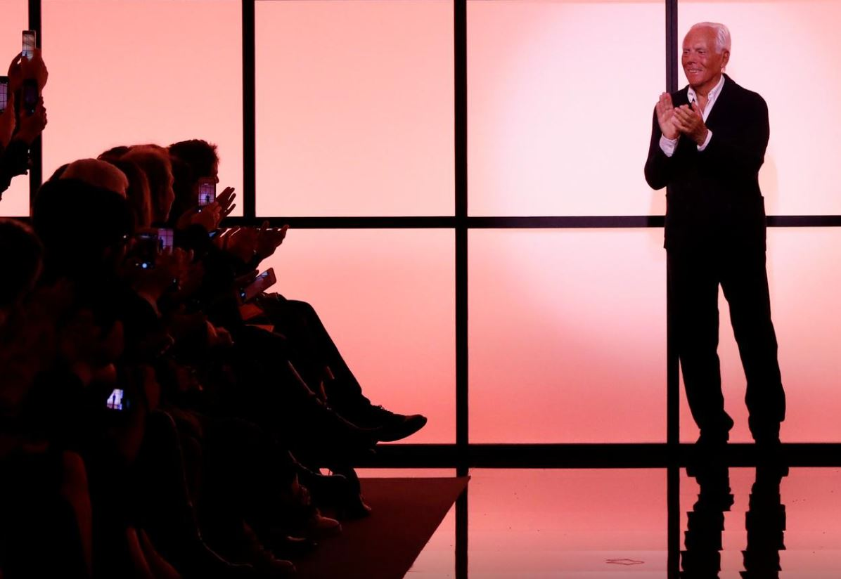 Armani takes over prime-time TV for catwalk during COVID-19
