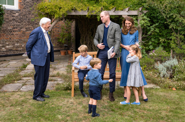 Prince William, wife Kate join Attenborough after film screening