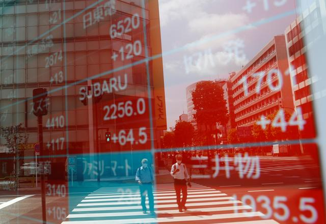 Global shares extend gains on US stimulus, upbeat data