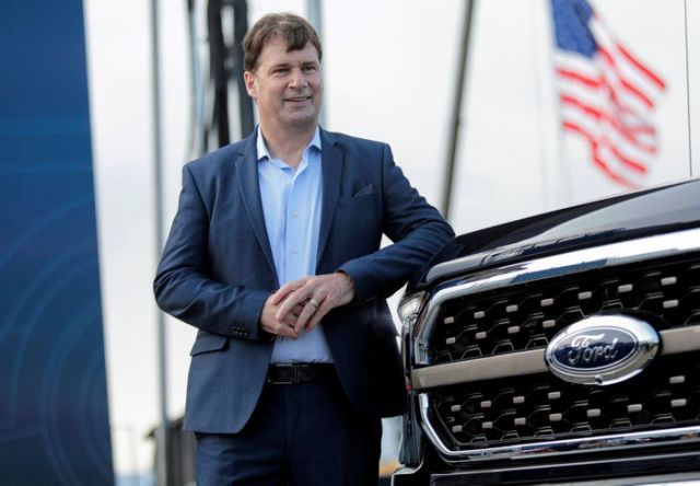 Ford's new CEO Farley promises urgency at automaker, shakes up management