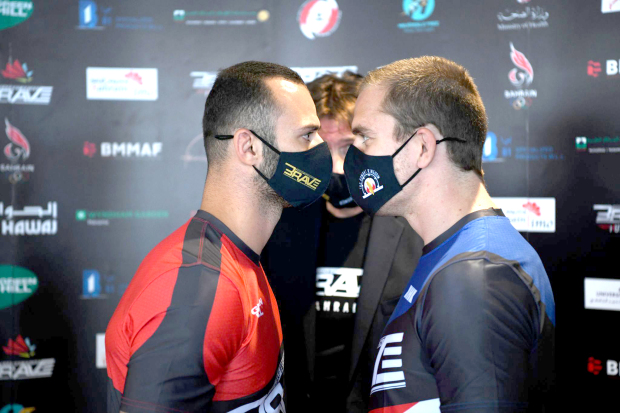 Fierce staredowns enliven weigh-in
